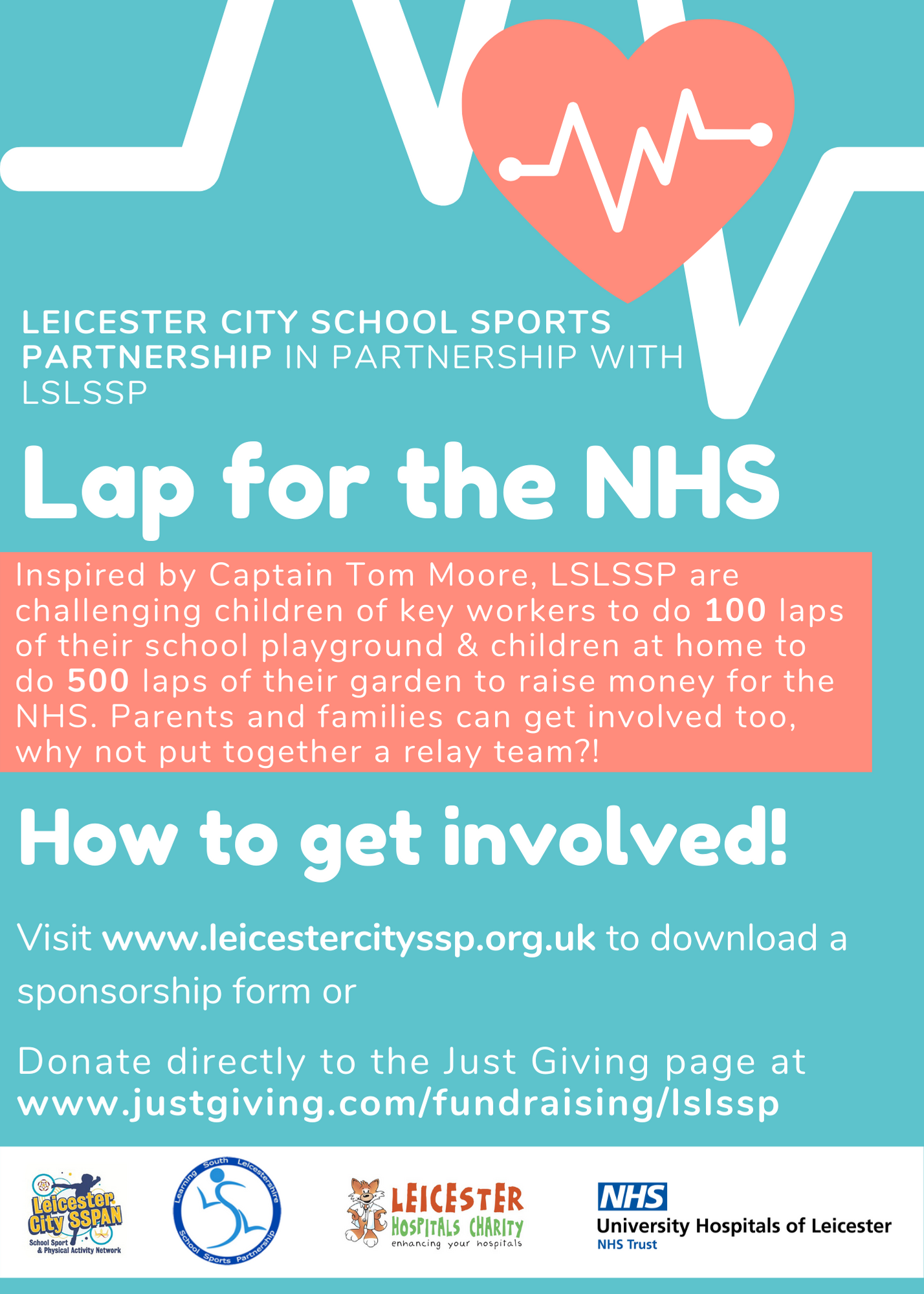 Lap for NHS FLyer