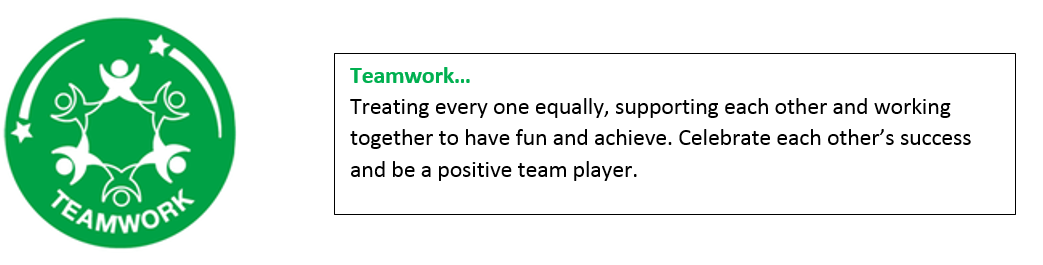 team work values