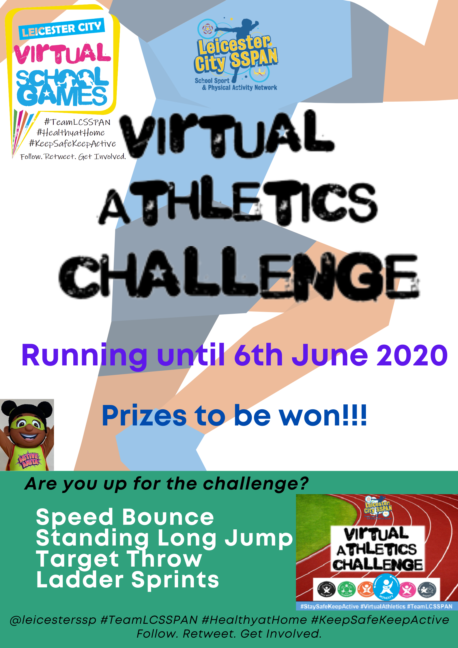 Starts today Virtual Athletics Flyer