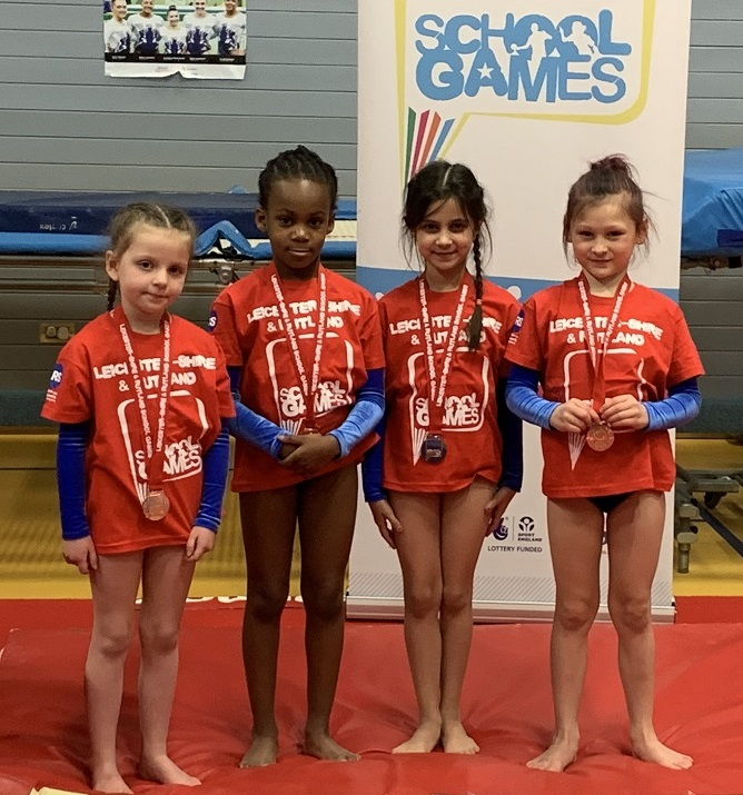 Stokes Wood Key Step 1 Gymnastics Team